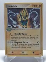 Manectric 38/107 Pokemon EX Deoxys Uncommon Lightning LP Used See Pictures