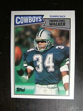 1987 TOPPS #264 HERSCHEL WALKER ROOKIE CARD RC NRMT/MT COWBOYS