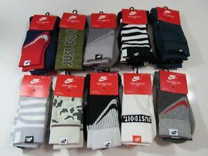 Nike Mens SNKR SOX Crew Socks 2 Pack SX7289 Nwt