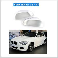 2 COQUE DE RETROVISEUR A CLIP GRIS ARGENT BMW SERIE 1 2 3 F20 F22 F23 F30 F32
