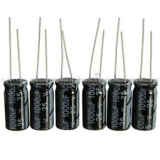 50PCS 1000uF 25V 10mm*20mm Radial Electrolytic Capacitors 10mmx20mm