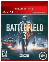 Brand New Factory Sealed BATTLEFIELD 3 Sony PlayStation 3 PS3 Greatest Hits