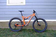 2016 Cannondale Bad Habit 2 Aluminum 27.5 PLUS Mountain Bike Large SRAM Upgrades