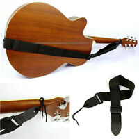 Adjustable Firm Nylon Neck Strap for Acoustic Electric Classic Guitar Bas New