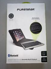 "PureGear Folio Case Backlit Bluetooth Keyboard for 7-8"" Tab's - -Black Open Box"