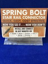 Stair Parts Rail To Post End Spring Bolt Kit Metal Interior/exterior Wood