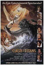 "CLASH OF THE TITANS Movie Poster [Licensed-NEW-USA] 27x40"" Theater Size 1981 (B)"