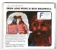 (HX839) Iron And Wine & Ben Bridwell, Sing Into My Mouth - 2015 new DJ CD