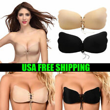 0e2734d7b10ee Silicone Push-Up Backless Strapless Self Adhesive Gel Magic Stick Invisible  Bra