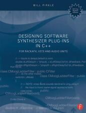 DESIGNING SOFTWARE SYNTHESIZER PLUG-INS IN C++ - PIRKLE, WILL - NEW PAPERBACK BO