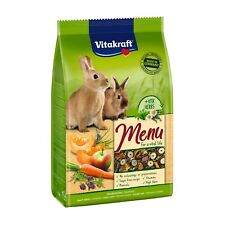 VITAKRAFT Premium Menu Vital for Dwarf Rabbits 5kg Food Rabbit Feed Hares