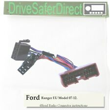 4-Head-4880-71 Radio Cable for Pioneer ISO Radio/Ford Ranger EU Model 07-12