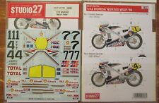 DECAL: 1/12 S27793 1986 R!!!!!!!!! Honda NSR500 SPENCER/GARDNER