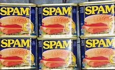 10 PAK CLASSIC SPAM CANNED MEAT 12 OZ EMERGENCY / SURVIVAL FOOD  GLUTEN FREE