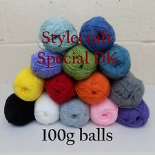 100g Stylecraft Special DK Acrylic Washable Double Knitting Yarn - Many Colours