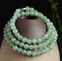 Natural jade Chinese carved by hand round jade pendant Women Fashion 73mm