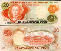 PHILIPPINES 20 PISO PESO P 150 UNC