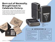 Zippo 49264, 75th Anniversary WWII Victory Collectible Lighter,1941 Replica Case