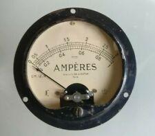 Ampèremètre ancien atelier DA et Dutilh Paris Ampères instruments de mesure labo