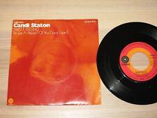 """Candi Staton 7 """" Single - Sweet Feeling/German Capitol in Mint"""