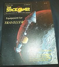 Spacegamer #49 Car Wars, Naked Elf Women, Traveller, D&D Call Of Cthulhu