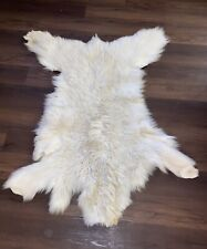 Rocky Mountain Goat Hide
