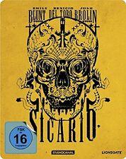 Sicario - Steelbook Blu-ray - NEU OVP - Emily Blunt