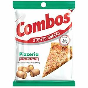 COMBOS Pizzeria Pretzel Baked Snacks 6.3-Ounce Bag (1-Bag)
