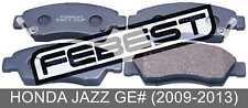 Pad Kit, Disc Brake, Front For Honda Jazz Ge# (2009-2013)