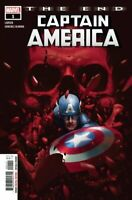 Captain America The End #1 Main Cover Marvel Comics 2020