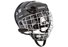 Reebok 7K ice hockey helmet and cage size small black new face mask combo sz sm