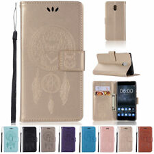 New Hot Magnetic PU Leather Wallet Card Case Stand Flip Cover For Nokia 3 5 6 8
