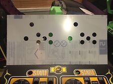 Mortal Kombat 1 Arcade Lexan Polycarbonate Control Panel Protector MK1 NOS CPO