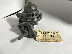 1941 1942 1946 1947 INTERNATIONAL HARVESTER FUEL PUMP 41 42 46 47  -  7556