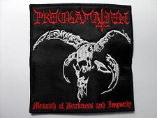PROCLAMATION  MESSIAH OF DARKNESS  AND IMPURITY       EMBROIDERED PATCH