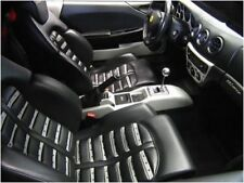 erneuert kit Farbe Achselstück Leder Ferrari schwarz 308 328 348 GTS 355 F1