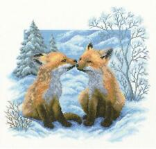 RTO Counted Cross Stitch Kit  -  Fox Cubs