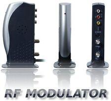 RF Modulator Quantum FX RFM-1 With S-Video Jacks AV Analog