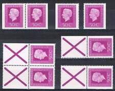 Alle combinaties uit PB18 (6 stuks) Postfris MNH