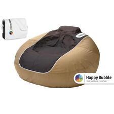 """B-Ware """"Happy Bubble"""" aufblasbarer Sitzsack mit Tasche und Pumpe wasserfest Sitz"""