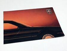 1989 Sterling 827 S 827 SL 827 SLi Full Line Brochure