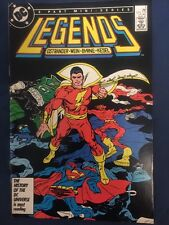 LEGENDS #5 Captain MARVEL, Doctor FATE, Black CANARY Nice! VFNM (1987) DC Comics