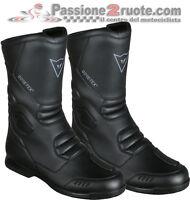 Boots moto touring Dainese Freeland Gore-tex black waterproof