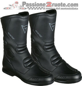 Boots Motorcycle Touring Dainese Freeland Gore-Tex Black Waterproof