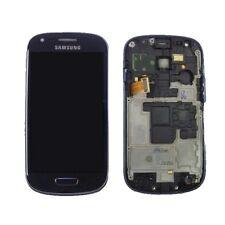 Pantalla Completa Lcd + Tactil con Marco Samsung Galaxy S3 Mini I8190 Azul Nueva