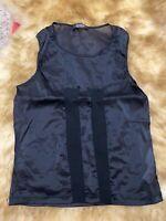 Cher black Camisole Top sleepwear nightwear size M