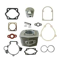 Cylinder&Piston&Pin Clips Wrist&Gasket Set Fit 80cc Motorized Bicycle