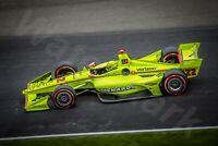 8 X 12 Photograph Print Indycar racing 2019 Indy 500 Grand Prix Simon Pagenaud