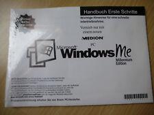 Windows me millenium CD-ROM tedesco-per MEDION-PC-ORIGINALE SIGILLATO
