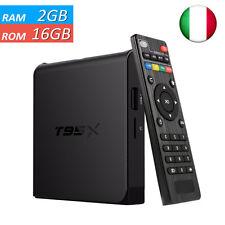 T95X 2GB 16GB Amlogic S905X TV BOX 4Kx2K H.265 KODI Media Player Box